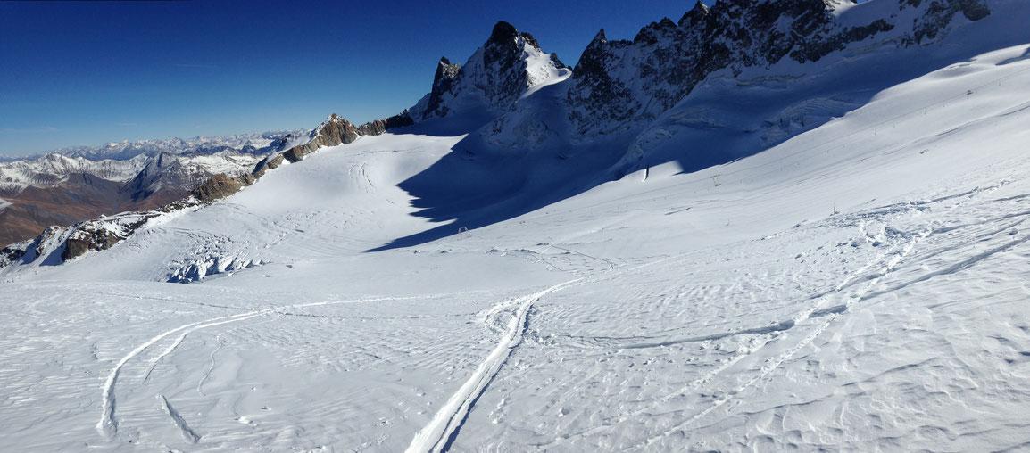 Glacier de la Girose - La Grave - Le Rateau Est