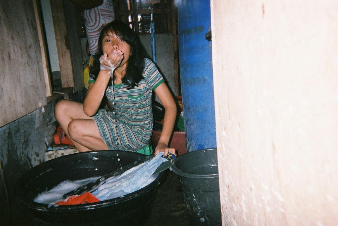 Agnes Cablao, 15, Tacloban