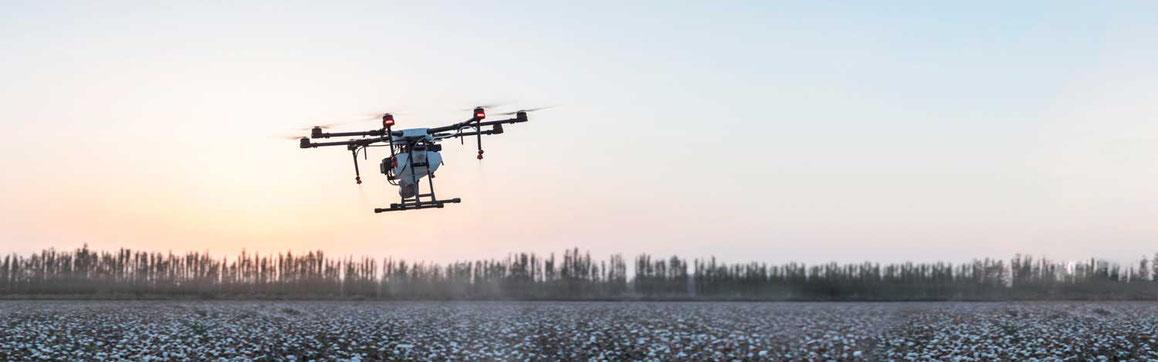Los drones para fumigar reducen drásticamente los insumos y tiempos de respuesta, su tecnología representan un gran avance en la productividad agrícola