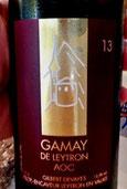 Gilbert Devayes Leytron Gamay