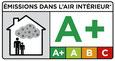 Bild Logo Zertifizierte Emissionsklasse A+