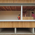 住宅、木造、平屋建て、大開口