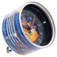 magnetische Dosenuhren mit exklusiven Designs von Ted Smith.