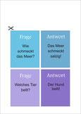 Frage-Antwortkarten