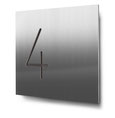Nummern beginnend mit 4... konturgeschnitten, in Edelstahl oder Aluminium