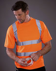 Size Two Band & Brace Hi Vis T-Shirt
