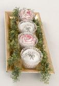 Wunderbare Cupcakes als Tischdekoration