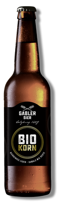 0,33l Flasche Gabler BIOKORN
