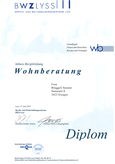 Diplom Wohnberatung