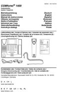 Titelbild Betriebsanleitung: Auerswald COMfortel 1400
