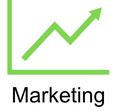 Grafik mit Diagramm mit Verlinkung in die Unterseite Strategisches Marketing.