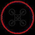 Luftaufnahmen mit einer Drohne
