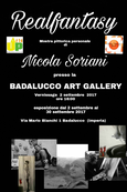 Mostra personalepresso la Badalucco art gallery, settembre 20172017