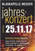 Flyer Jahreskonzert 2017