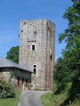 patrimoine Pays d'art et d'histoire Pah Monts et Barrages tour d'Echizadour Saint-Méard