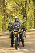 Tja - da lacht das Motorradfahrerinnen Herz