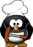 Pinguin grillt (Foto: Pixabay)
