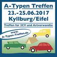 A-Typen Treffen 2017 Kyllburg/Eifel Düssel Ducks