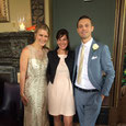 Photo: Bride and Broom with Event Wedding Singer in their middle at London wedding
