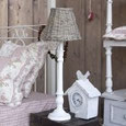 Lampen, Lampenschirme, Keramik Tischlampen, Wohnen, Dekoration, shabby chic, Landhausdekoration