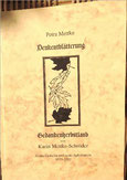 Karin Mettke-Schröder, Petra Mettke/Denkentblätterung/Gedichtband/Druckskript von 2003