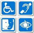 Grafik für Behinderung