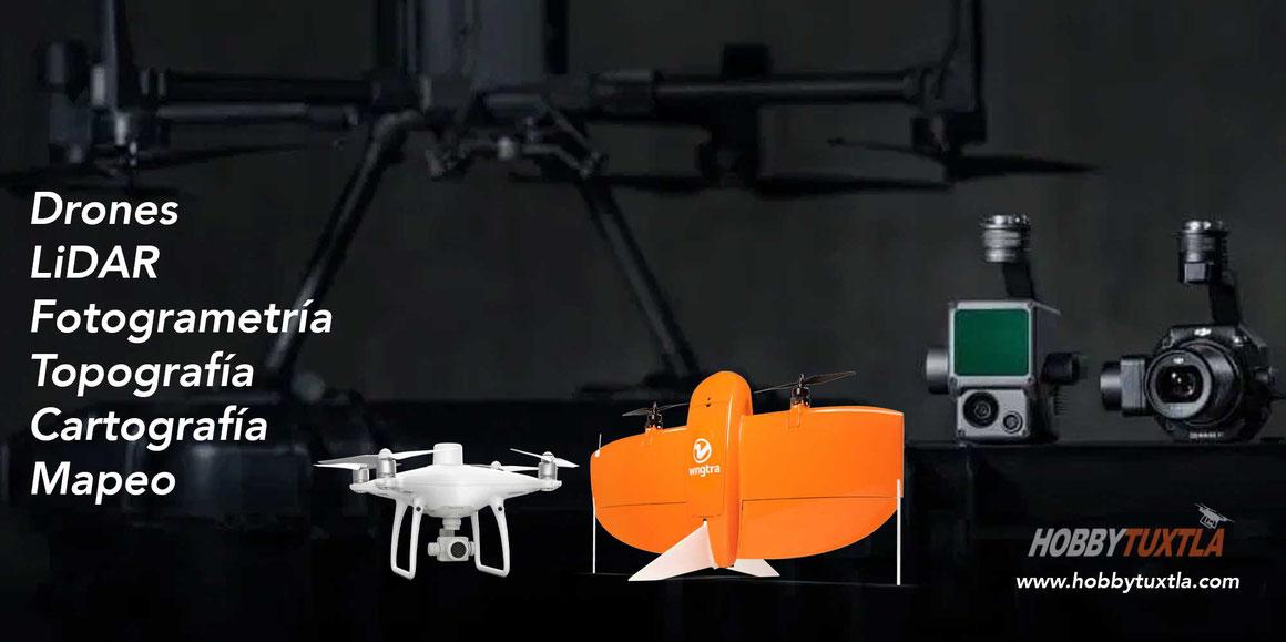 Drones para fotogrametria