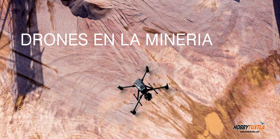 Drones para mineria