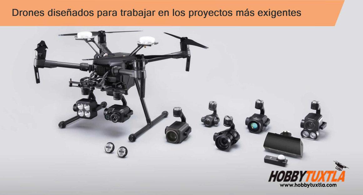 Drones profesionales para los trabajos más exigentes, drones para agricultura de precisión, mapeo, drones para seguridad
