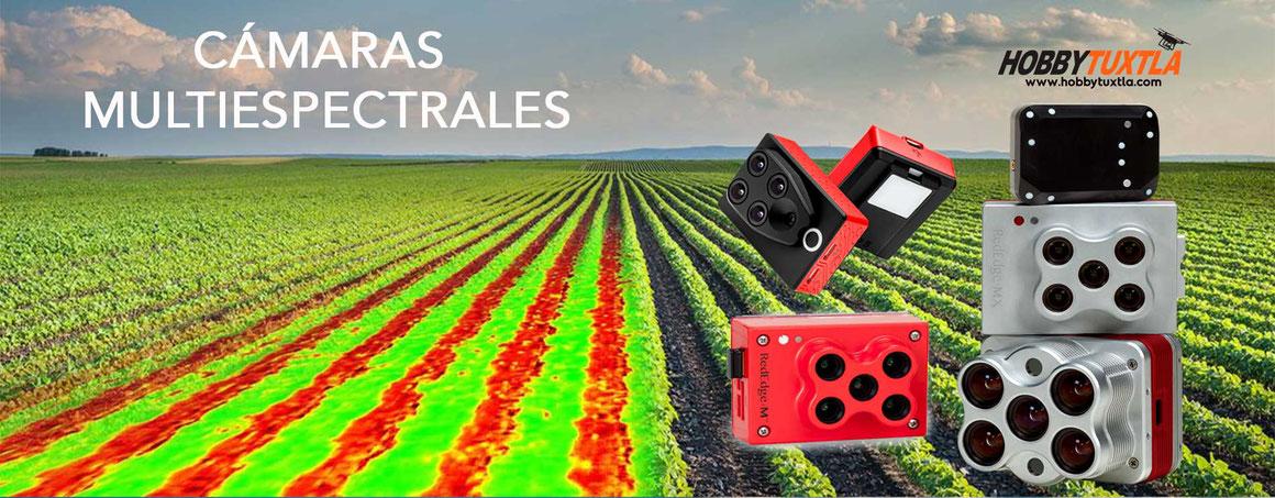 Nuestras cámaras multiespectrales en drones ayudan en el análisis de cultivos para una agricultura de precisión