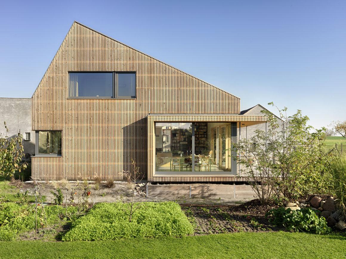 bauzeit berlin, Projekt- und Bauleitung, Haus als vorgefertigte Holzrahmenkonstruktion