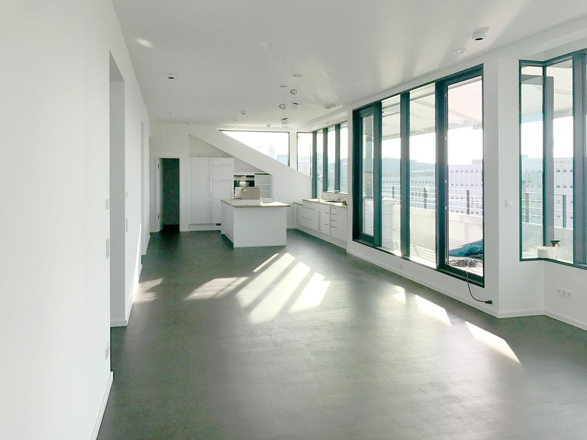 bauzeit berlin, Bauleitung Dachgeschossausbau