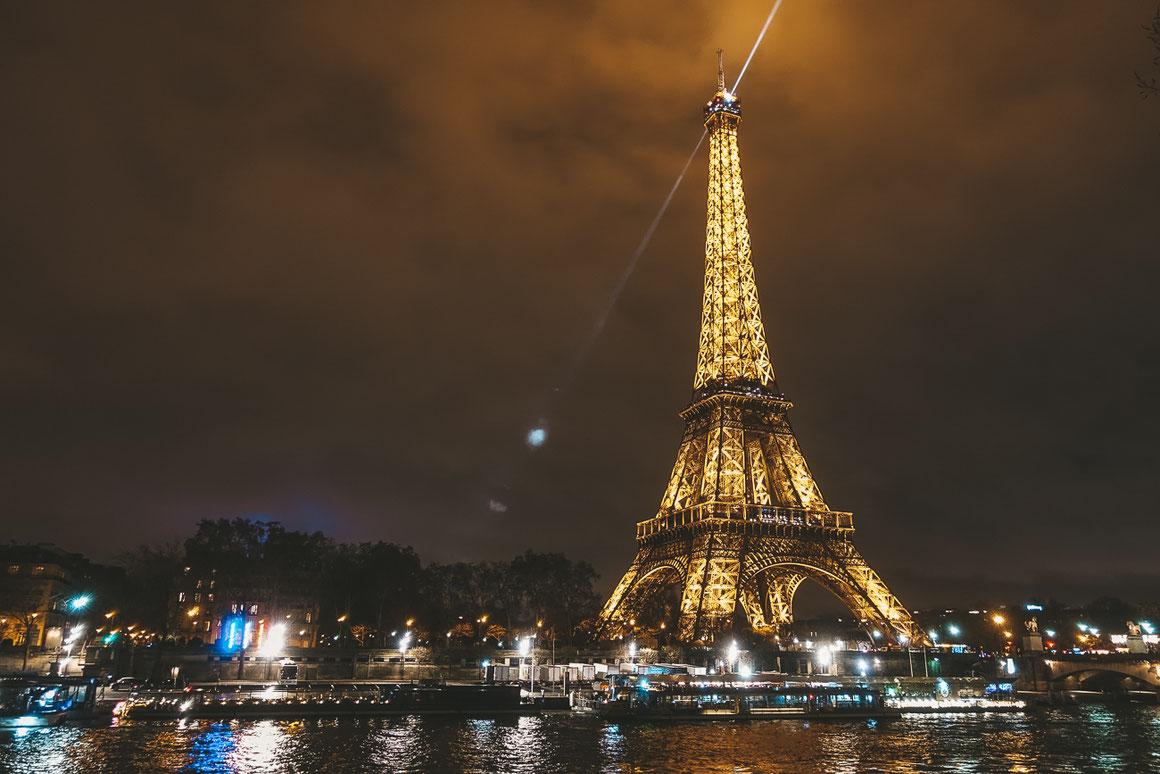 © copyright Tour Eiffel – illuminations Pierre Bideau
