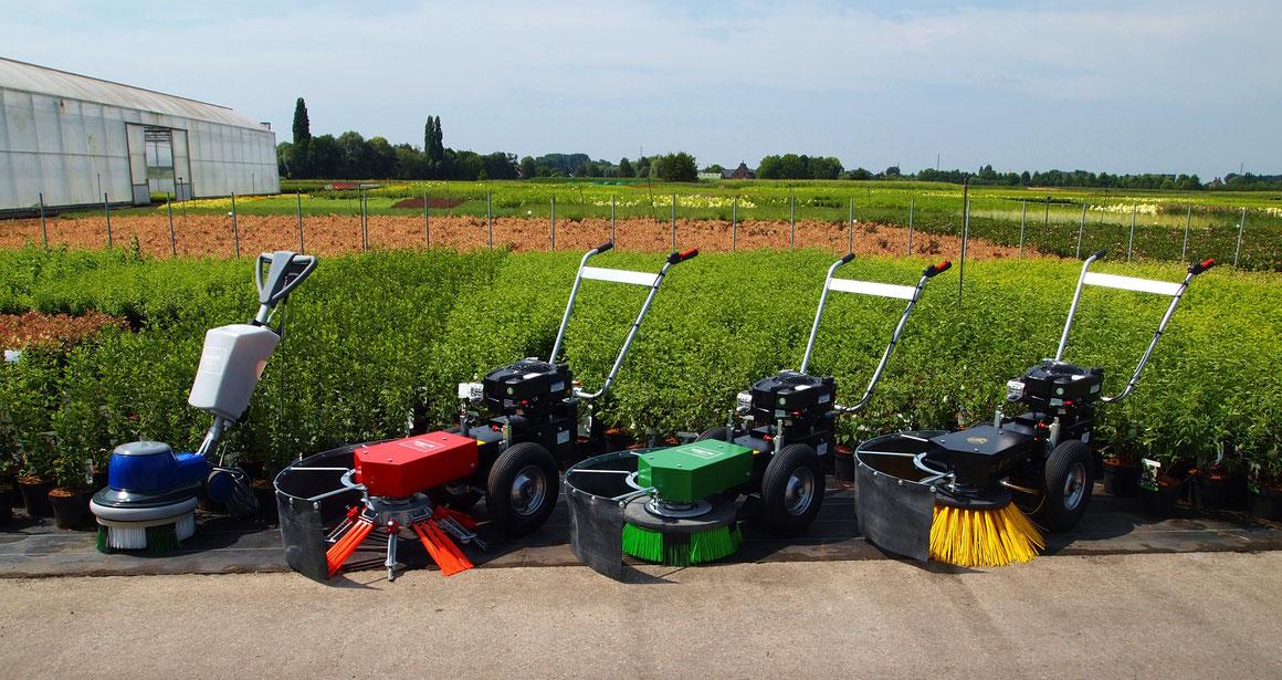 Terrazza Maschinen zur Unkrautentfernung, Terrassen- und Geotextil-Reinigung