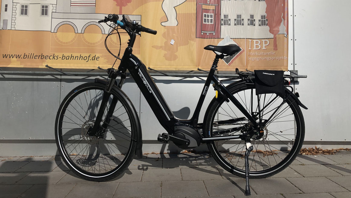 Billerbecker Bahnhof als Anlaufstelle für E-Bikes, Foto: IBP e.V.