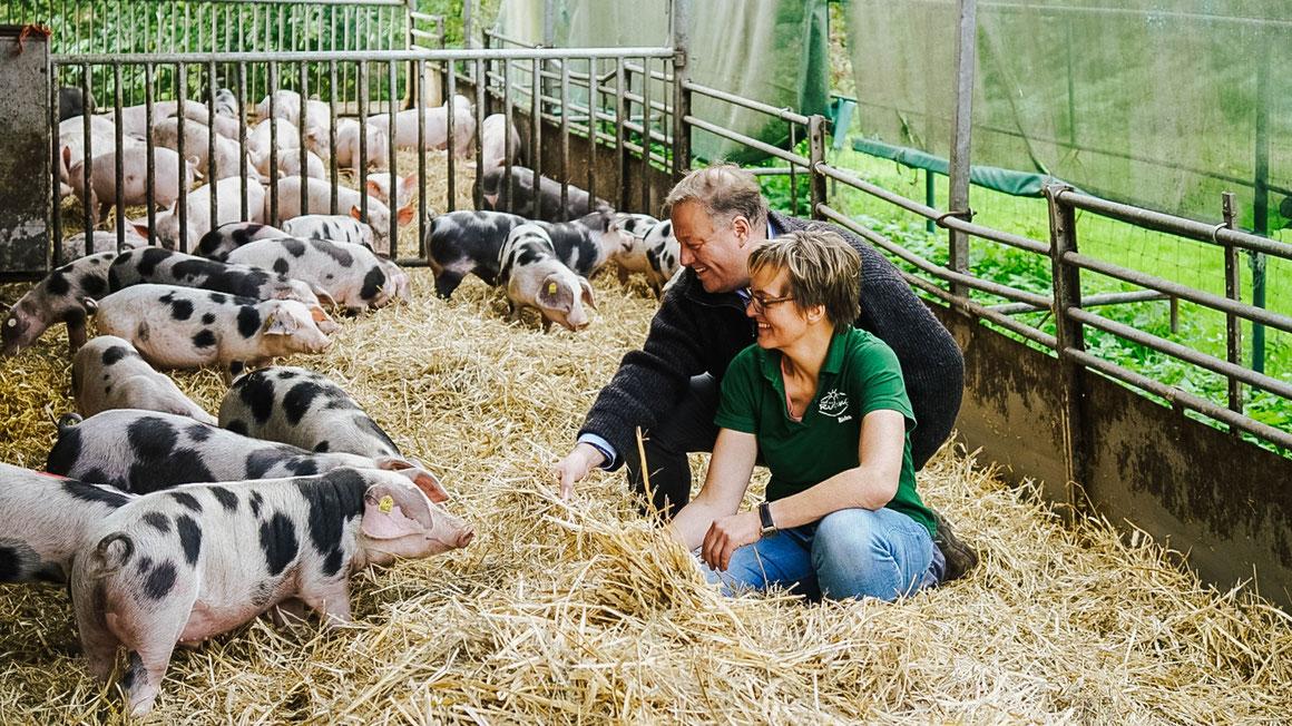 Die Versorgung mit regionalen Lebensmitteln verbessern möchte das LEADER-Projekt der Regionalwert AG. Foto Petra Hegewald/pixelio