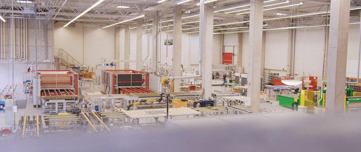 Solarterrassen & Carportwerk GmbH Produktion Solarmodule