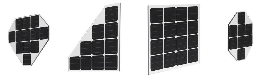 Solarglas für Terrassenüberdachung und Solarcarport
