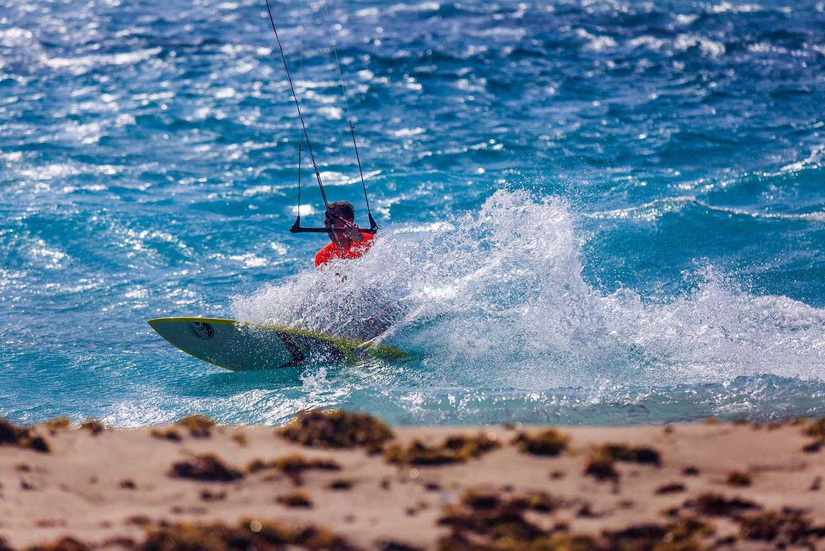 photographe destination kitesurf aruba