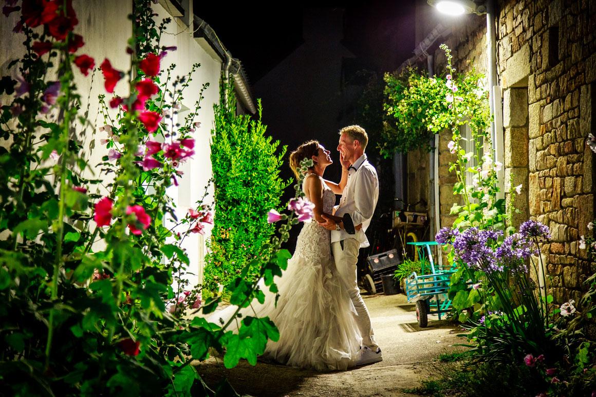 Photographies de mariages à l'ile de Houat, Idée photo mariage, bride and groom, Houat Morbihan bretagne