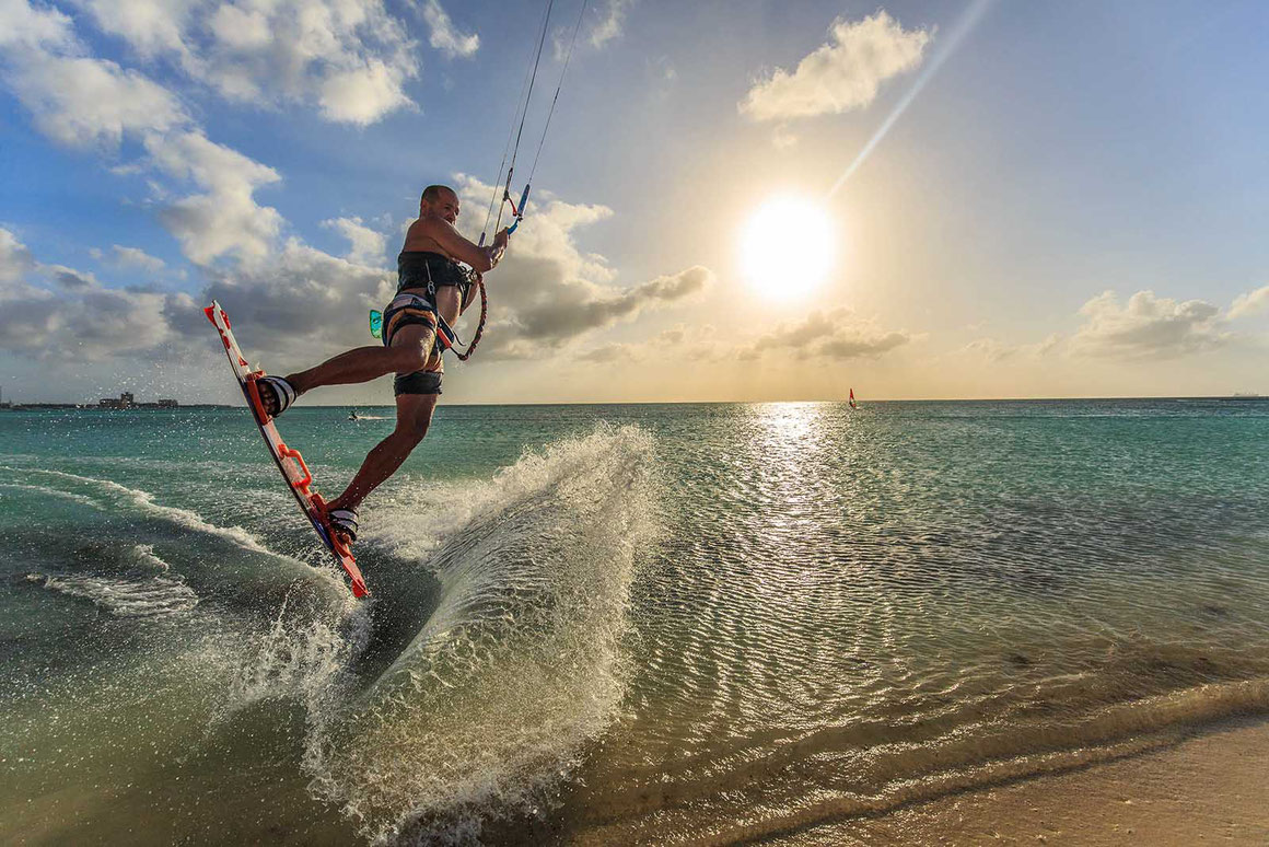 Aruba Kitesurfing paradise