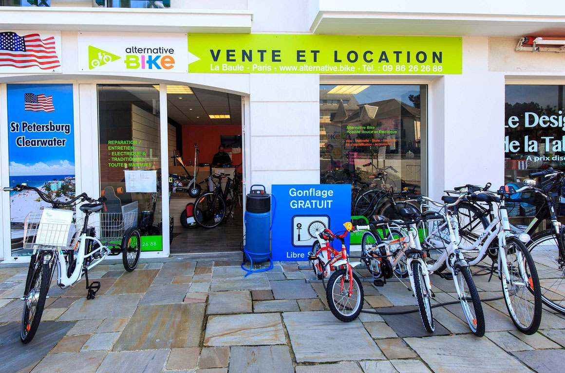 Alternative Bike La Baule escoublac photographie nils dessale