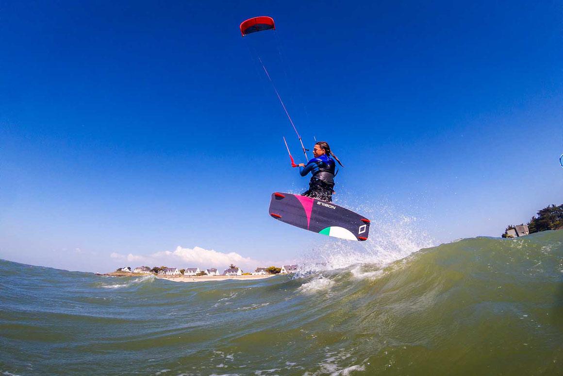 Réussir ses images de kitesurf