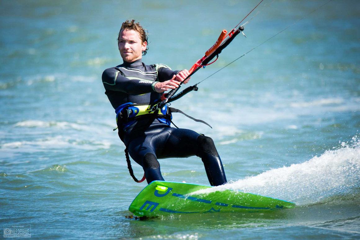 Photographe de kitesurf en Bretagne