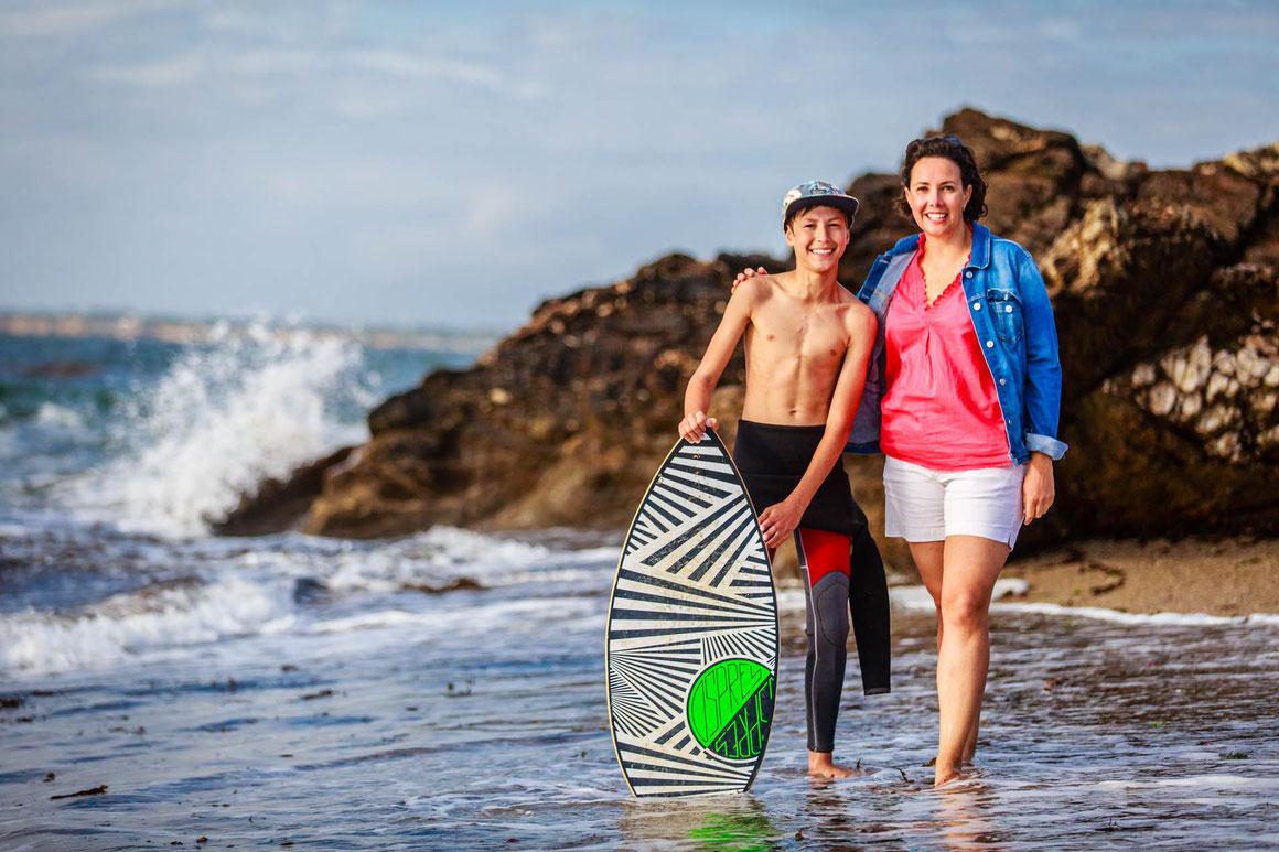 Séance photo Portraits en famille à Piriac sur mer avec Nils Dessale Photographies