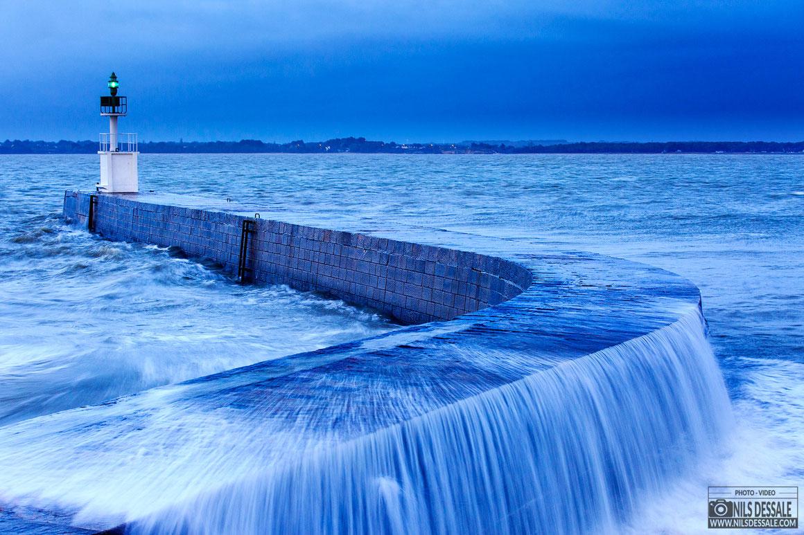 La pointe de merquel par grande marée.  #waterinmotion