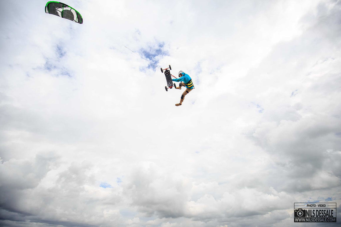 Photographe Kitesurf - Landkiting Penvins