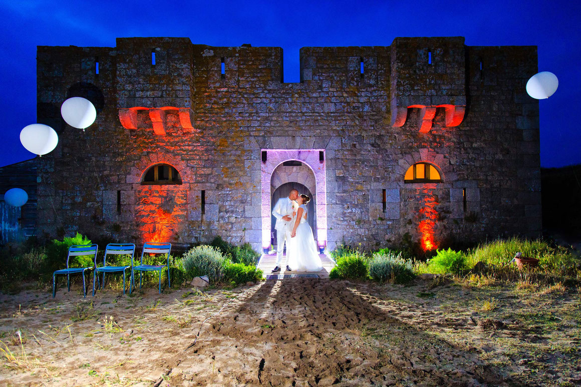 Wedding photographer Brittany - Romantic castle on a small island