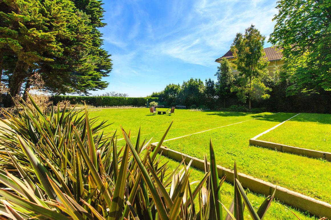 Jardin à la française à la baule par manupaysage