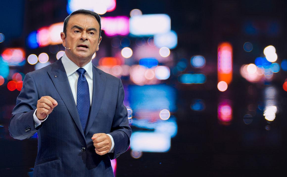 Renault-Nissan-Chef Carlos Ghosn festgenommen – Aktie stürzt ab.